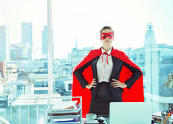 No son superpoderes… La imagen de su empresa es de todo menos magia.
